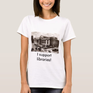 Library, New York City c1910 Vintage T-Shirt