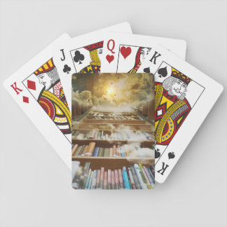 library poker deck