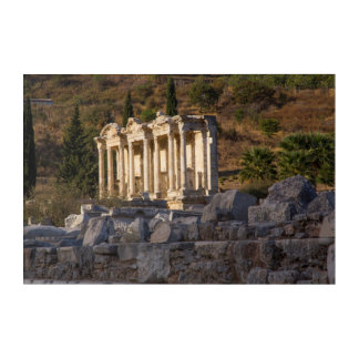 Library Of Celsus Ruins Acrylic Print
