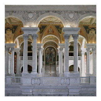 Library of Congress 20x20 Poster