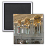 Library of Congress 2 Inch Square Magnet