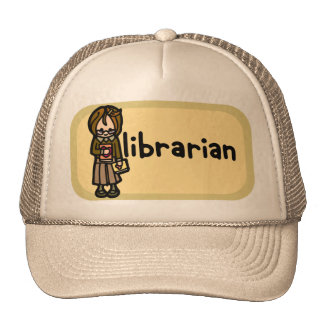 library of congress cap. trucker hat