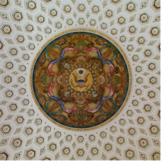 Library of Congress Ceiling Cutout