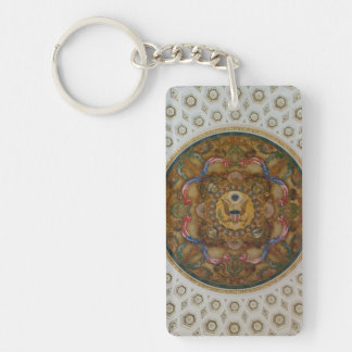 Library of Congress Ceiling Keychain