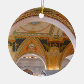 Library of Congress Ceiling Ornament