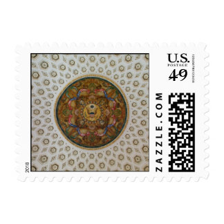 Library of Congress Ceiling Postage Stamps