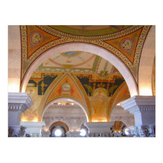 Library of Congress Ceiling Postcard