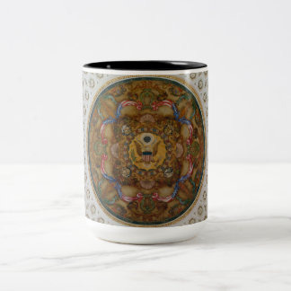 Library of Congress Ceiling Two-Tone Coffee Mug