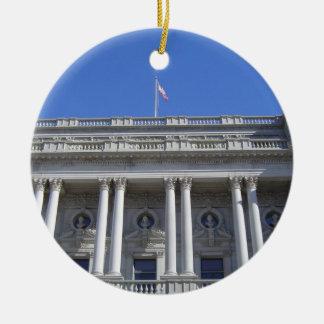Library of Congress Ceramic Ornament