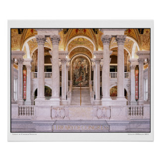 Library of Congress- Interior Poster