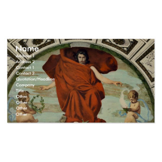 "Library of Congress ""Melpomene"" by Edward Simmons Double-Sided Standard Business Cards (Pack Of 100)"