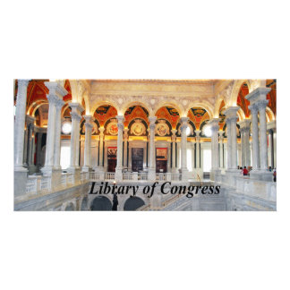 Library of Congress Photo Greeting Card