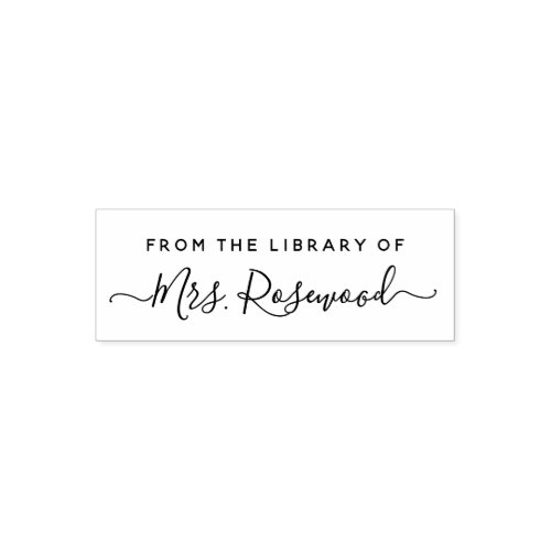 Library Of Handwritten Script Name Self_inking Stamp