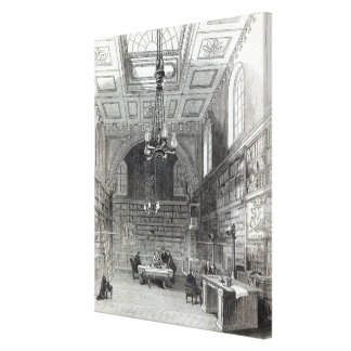 Library of the House of Lords Canvas Print