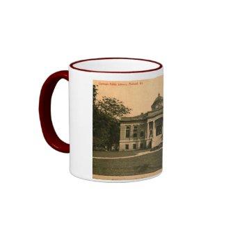 Library, Paducah, Kentucky Vintage Mug