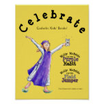 "Library Poster ""Celebrate Catholic Kids..."""
