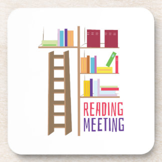 Library_Reading_Meeting Beverage Coasters