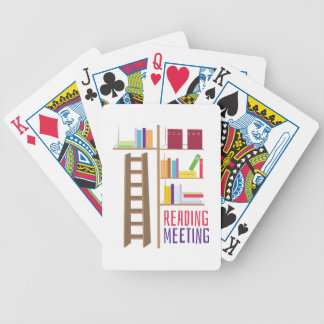 Library_Reading_Meeting Bicycle Playing Cards