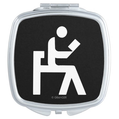 Library Reading Room Compact Mirror