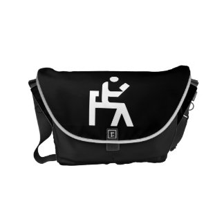 Library Reading Room Small Messenger Bag
