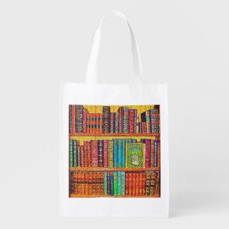 Library Reusable Grocery Bag