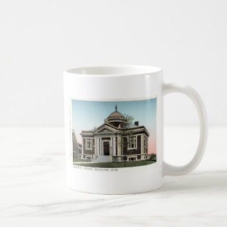 Library, Rockland Mass. Repro Vintage 1908 Coffee Mug