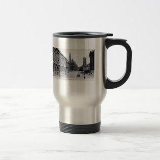 Library Saint-Genevieve, Paris France 1905 Vintage Travel Mug