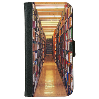 Library Shelves iPhone 6 Wallet Case