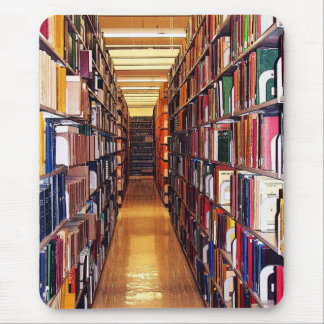 Library Stacks Mouse Pad