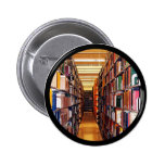 Library Stacks Pinback Button