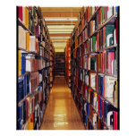 Library Stacks Poster
