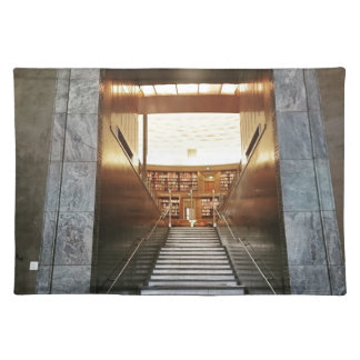 Library staira cloth placemat