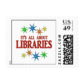 Library Stars Stamps