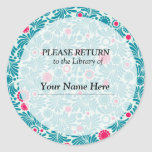 Library Sticker - Please Return