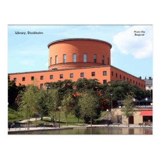 Library, Stockholm, Photo Ola B... Postcard
