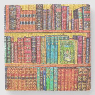 Library Stone Coaster