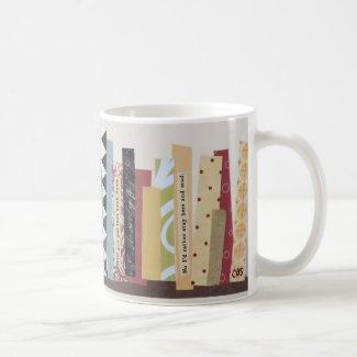 Library Stroll Classic White Coffee Mug