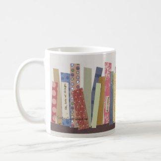 Library Stroll mug