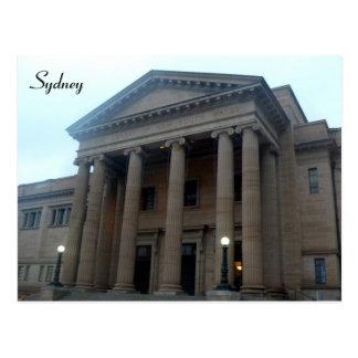 library sydney postcard