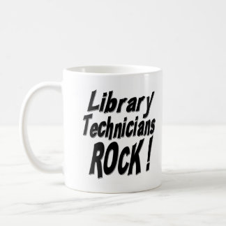 Library Technicians Rock! Mug