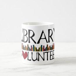 Library Volunteer Books Coffee Mug