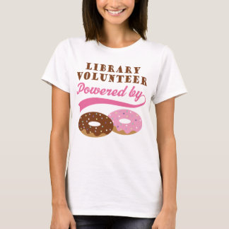 Library Volunteer Funny Gift T-Shirt