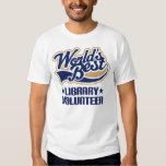 Library Volunteer Gift T-Shirt