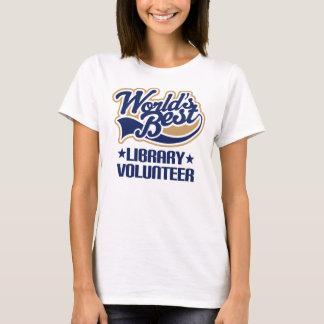 Library Volunteer Gift T-Shirt