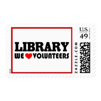 Library Volunteer Postage