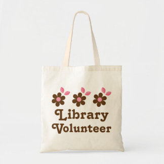 Library Volunteer Tote Bag