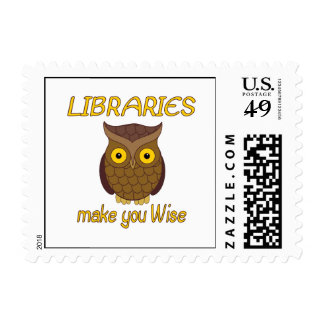 Library Wise Postage Stamps