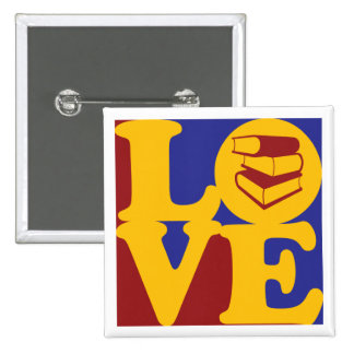 Library Work Love Pins