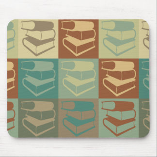 Library Work Pop Art Mouse Pads