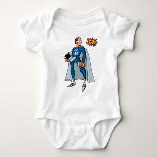 Libraryman with POW! Baby Bodysuit